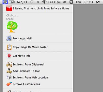 add context menu mac