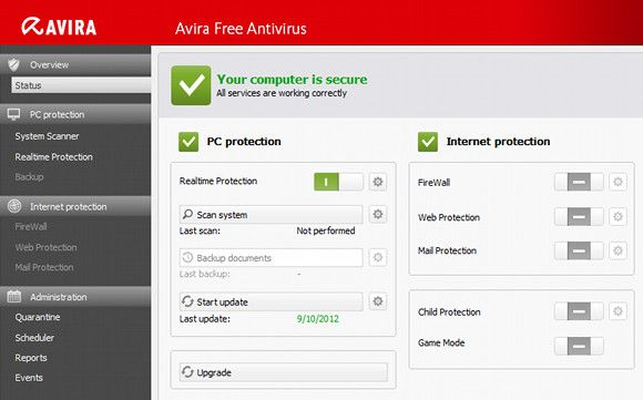 antivirus software comparison