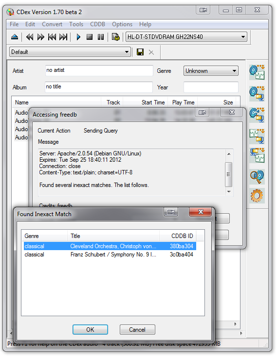 CDex Portable - The Best & Easiest CD Ripping Tool There Is [Windows] cdex3b