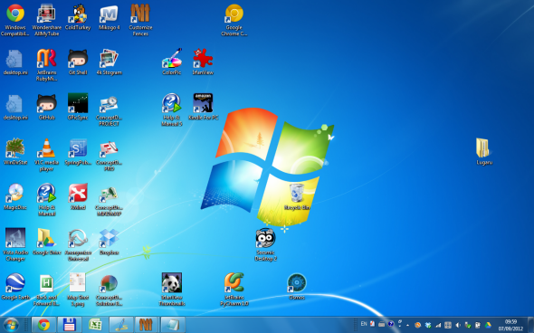organize windows desktop icons