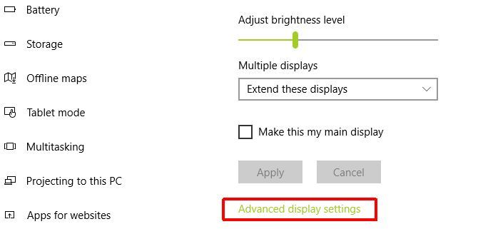 Two or More Monitors for an Extended Desktop: 3 Things You Should Check First display settings1