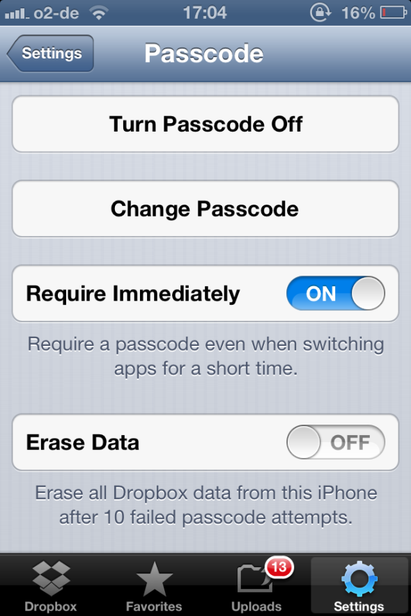 Dropbox - One Of The Must-Have Apps If You Own An iPhone dropbox passcode