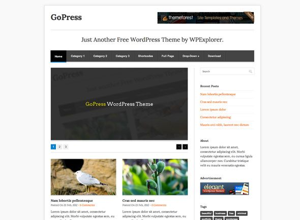 magazine theme for wordpress