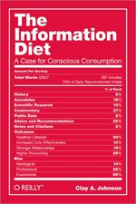 Eating Only Dessert: Why Your Information Diet Is Probably Terrible [Feature] infodiet cover