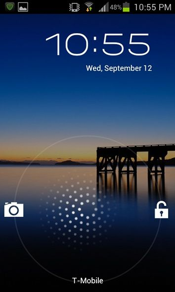 Jellybean Not Available For Your Phone? Get Its Best Features With These Apps [Android] jb holo lock screen
