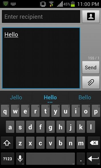 Jellybean Not Available For Your Phone? Get Its Best Features With These Apps [Android] jb keyboard
