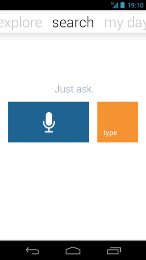 voice recognition application android