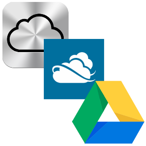 Which Is The Mobile Cloud Option For You? iCloud vs. SkyDrive vs. Google Drive