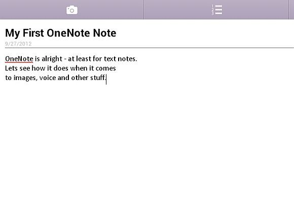 evernote and onenote