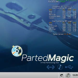 Parted Magic: A Complete Hard Drive Toolbox On One Live CD