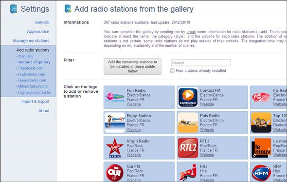 Try Some Easy Listening While You Surf With Radio Player