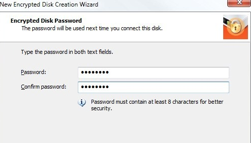 create virtual encrypted drives