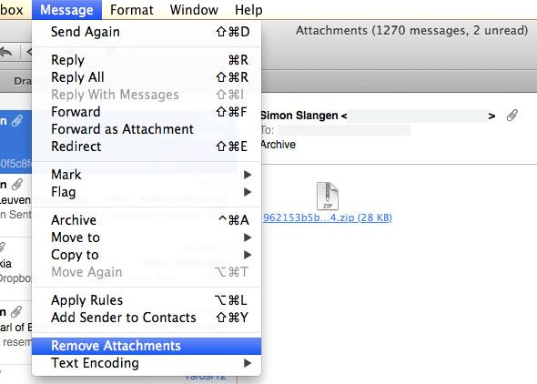 manage mac mail