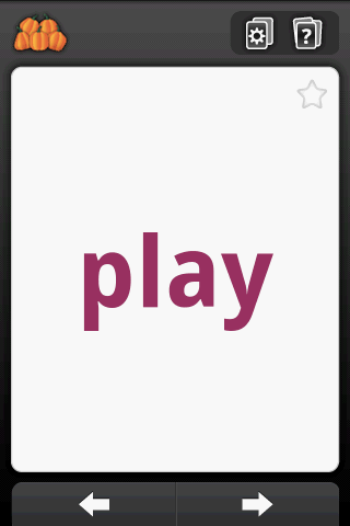 sight words   Sight Words: Help Your Kindergarten & Pre K Children Learn New Words [Android 2.1+]