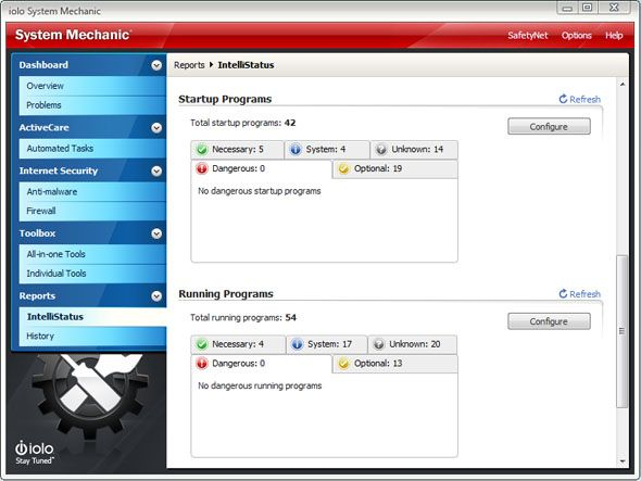 System Mechanic 11: Tune Up Your PC and Boost Performance Instantly [Giveaway] sm intellistatus
