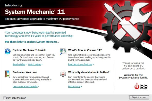 System Mechanic 11: Tune Up Your PC and Boost Performance Instantly [Giveaway] sm overview