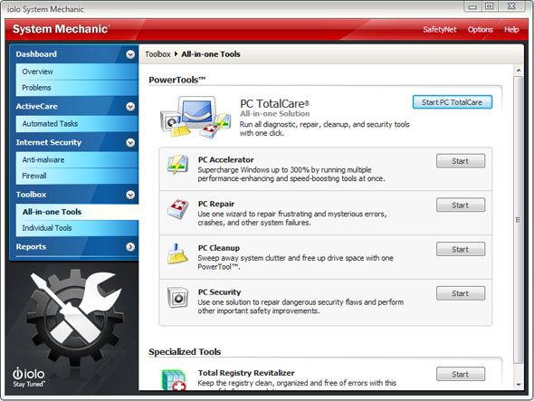 System Mechanic 11: Tune Up Your PC and Boost Performance Instantly [Giveaway] sm powertools