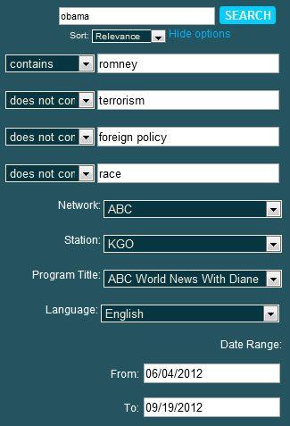 search tv news