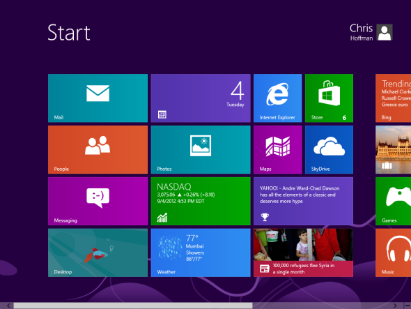 windows 8 versions list