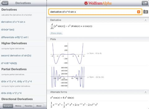 10 Excellent iPad Apps For School wolframipad