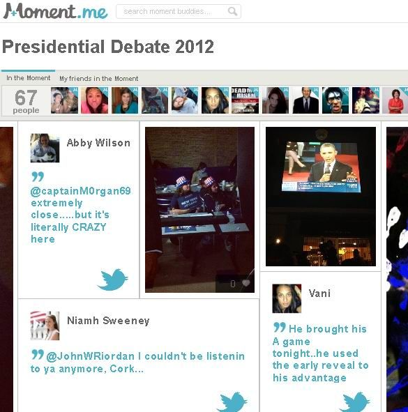 Moment.me: Collects & Organizes Pics,Videos & Tweets From a Single Event 11