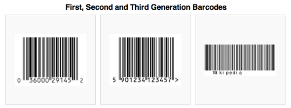 60 Years Of Barcodes - Amazing Uses For Lines & Squares [Geek History] 1stgen barcodes
