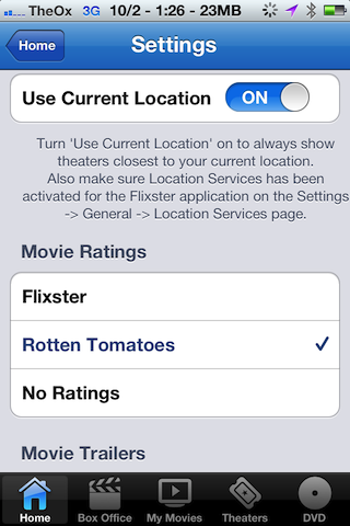 flixster iphone