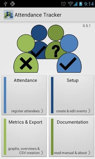 Attendance Tracker: Use Your Phone To Record Attendances For