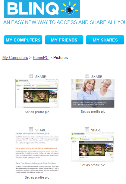 share pictures pc mac