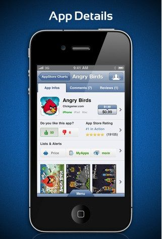 Details   AppZapp: Get Notified Of Price Drops For Apps [iOS 3.1+ & Android 2.2+]