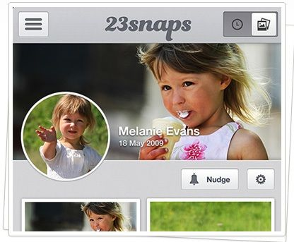 23snaps: A Private Social Network To Share Your Children's Pictures & Videos With Close Friends Evans