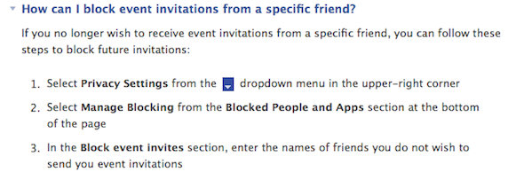 How To Ensure You're Not Outed On Facebook [Weekly Facebook Tips] Facebook Events Blocking