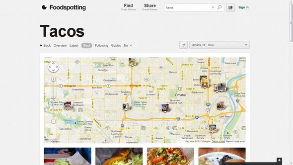 Some Useful Websites To Aid You In Your Daily Routine Foodspotting Map