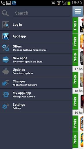 Login   AppZapp: Get Notified Of Price Drops For Apps [iOS 3.1+ & Android 2.2+]