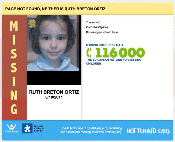 404 missing children
