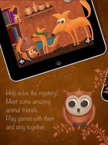 Who Stole The Moon: An Interactive & Visually Appealing eBook For Children [iOS] Owl