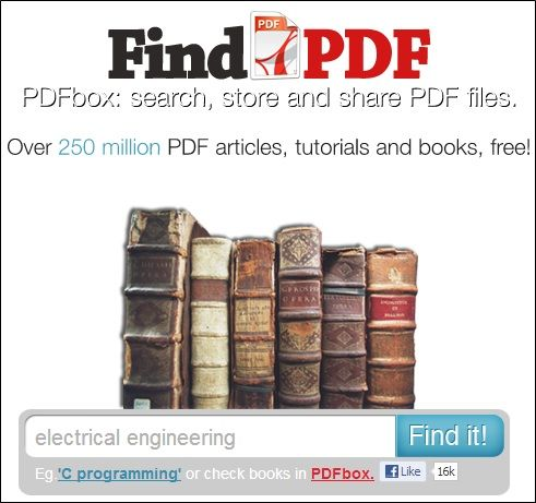 PDf   FindPDF: Search & Download Countless PDF Files That Are Publicly Available Online