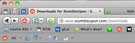 StumbleUpon For Firefox - It's Still Awesome Stumbleupon Toolbar
