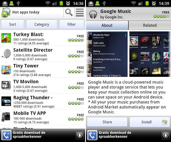 android app finder