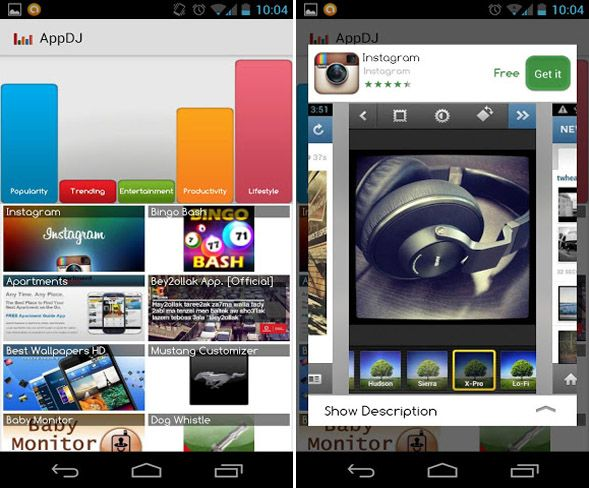 discover android apps