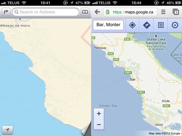 Why My Next Phone Is Not An iPhone, From An Apple Fanboy [Opinion] apple maps