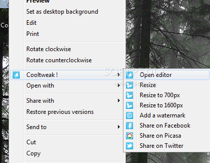 cooltweaks1   CoolTweak: Perform A Variety Of Picture Editing Functions From The Context Menu