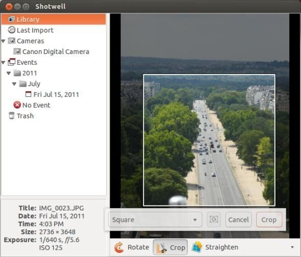use digital camera linux