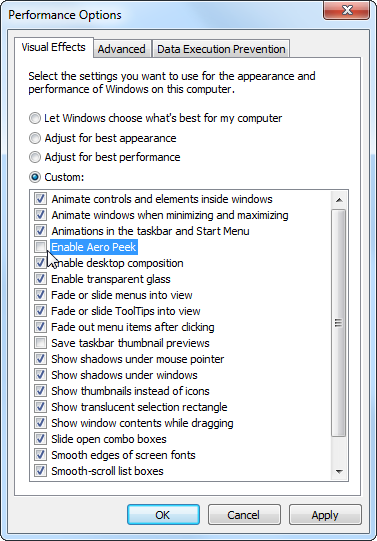 windows alt tab settings