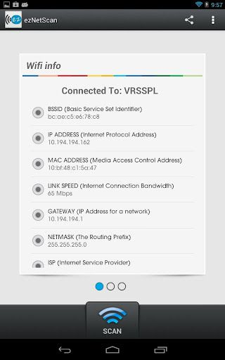scan wireless networks android