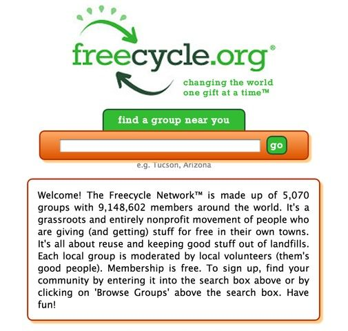 freecycle free stuff