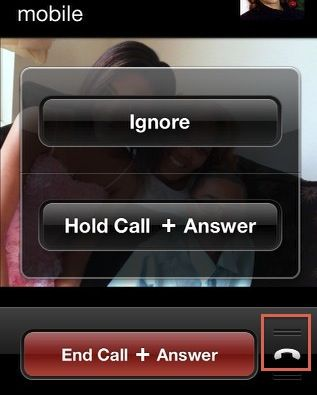 how to send a caller straight to voicemail iphone