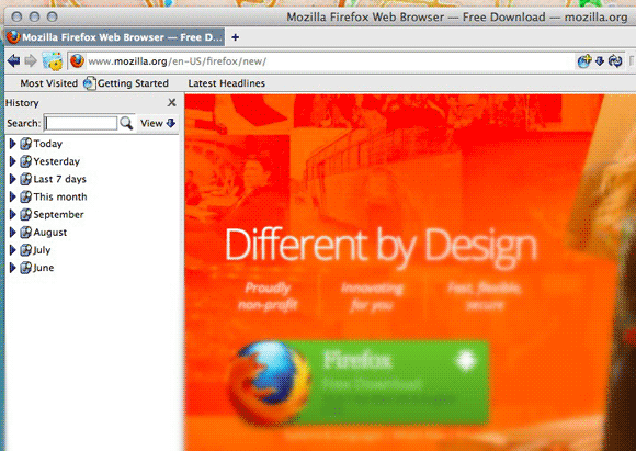 optimize firefox small screens