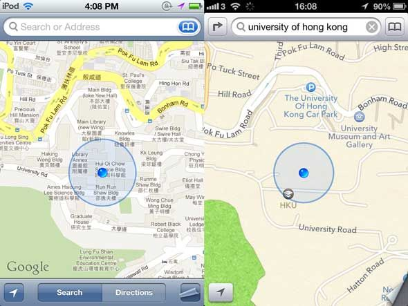 Why My Next Phone Is Not An iPhone, From An Apple Fanboy [Opinion] maps hongkong