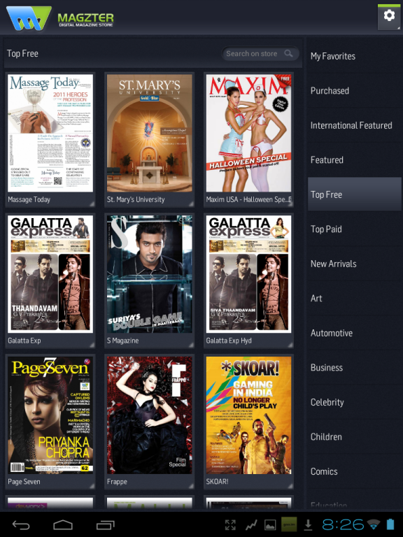android magazines